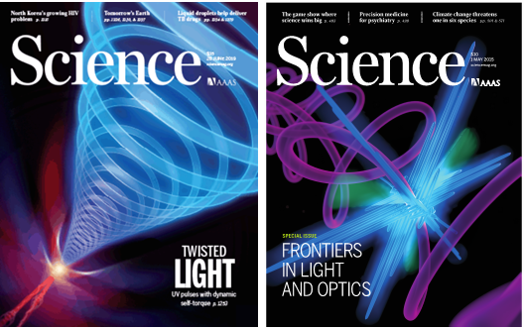 Attosecond Science Covers